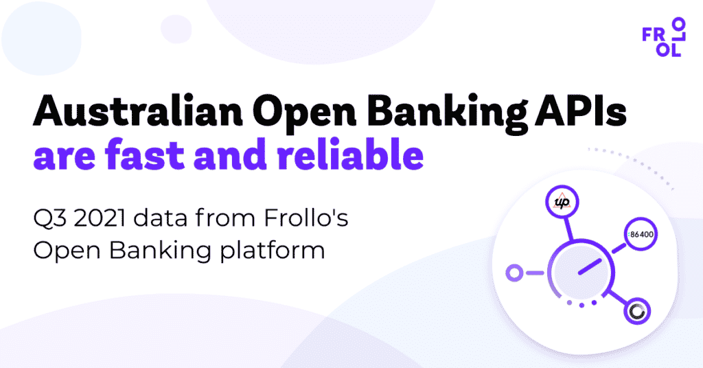 Australian Open Banking APIs are fast and reliable